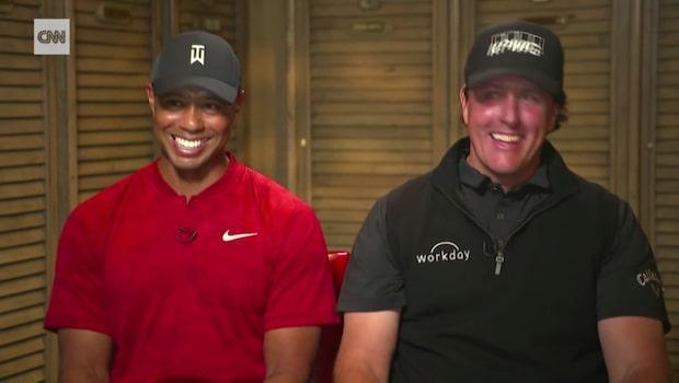 Woods och Mickelson inför supermötet