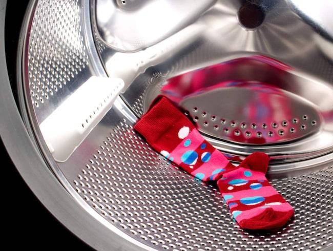 Singelstrumporna behöver inte förbli singelstrumpor om du använder tvättpåsen.