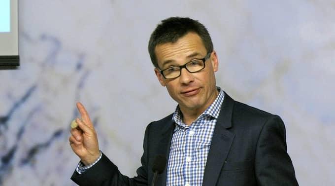 Regeringen och ansvarig minister Ulf Kristersson avslöjade tidigare i veckan att man föreslår förändringar i sjukförsäkringsreformen. Foto: Janerik Henriksson / Scanpix