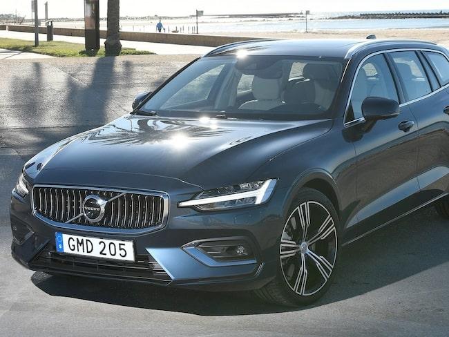 Volvo V60 är en av de 40 modellerna som får godkänt.