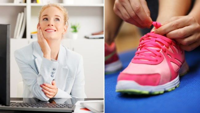 Har du ett stressigt schema och svårt att hinna med vardagsmotionen? Här tipsar vi om sex enkla och snabba övningar du kan göra vid skrivbordet på jobbet.