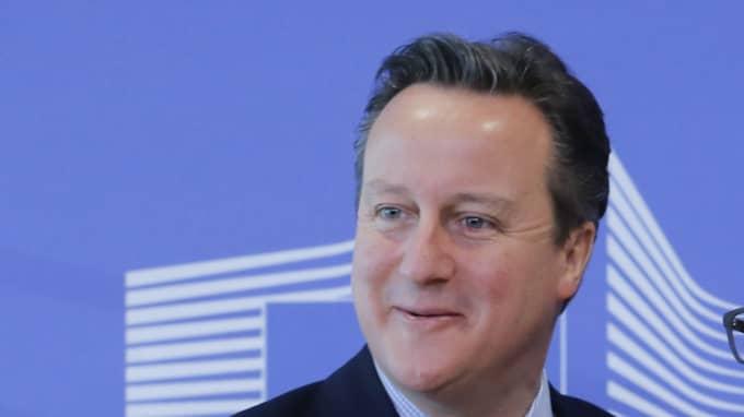 Fjäska hellre för Storbritannien och David Cameron än för Fiji. Foto: Olivier Hoslet / Epa / TT