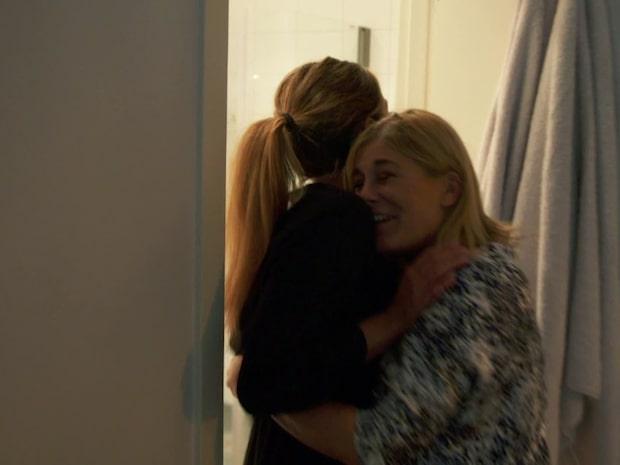 Pernilla Wahlgrens tårar – lämnad av dottern