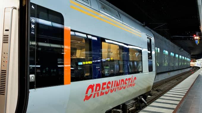 Under två timmar låg Skånetrafikens app för biljettköp nere under onsdagen. Samtidigt drabbades trafiken mellan Malmö och Köpenhamn av stora störningar på grund av obehöriga personer på spåren på den danska sidan. Foto: LUDVIG THUNMAN / LUDVIG THUNMAN EXPRESSEN