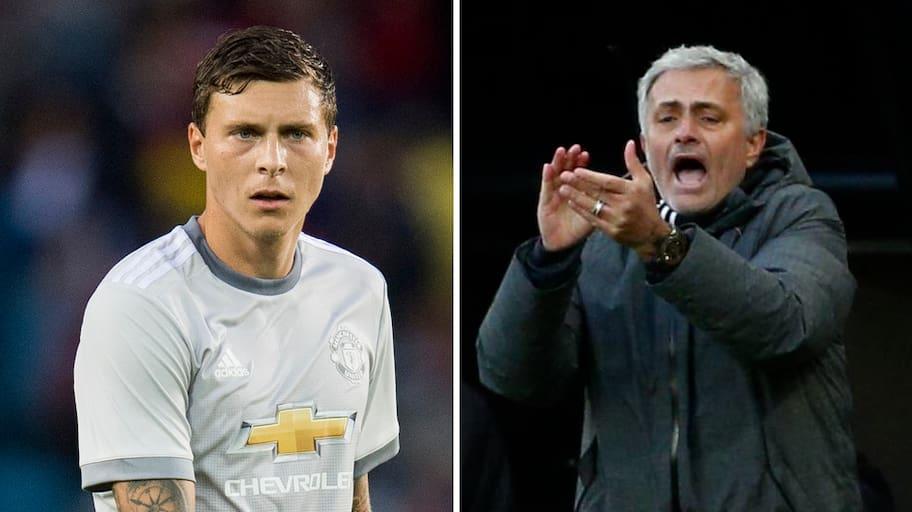 Jose Mourinho var inte imponerad av Lindelöfs start