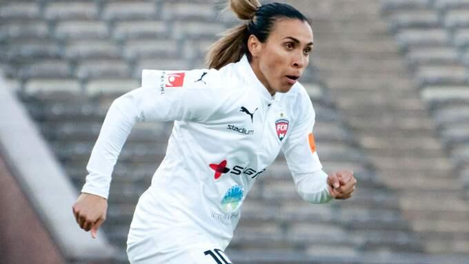 Marta klarade testet. Foto: HENRIK ISAKSSON/IBL