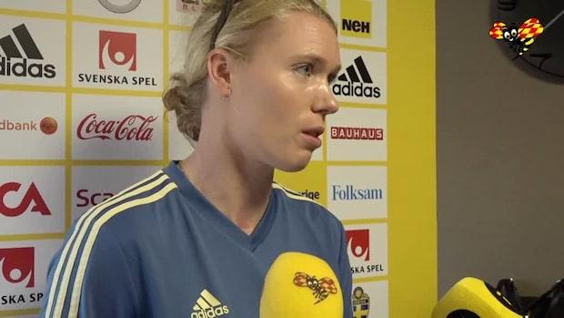 """Hedvig Lindahl: """"Hoppas att jag lyckats med det"""""""