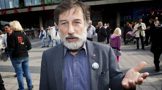 Politiker. Leif Pagrotsky (S), riksdagsman. Han har haft flera ministerposter i socialdemokratiska regeringar. Foto: Olle Sporrong