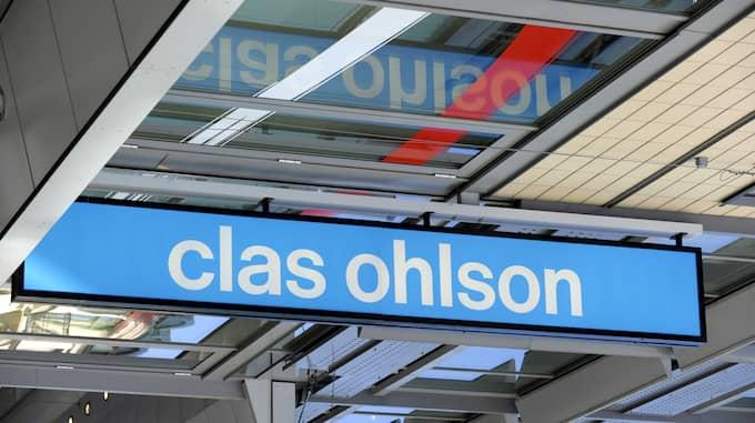 Clas Ohlson går sämre än väntat. Foto: Janerik Henriksson / TT NYHETSBYRÅN