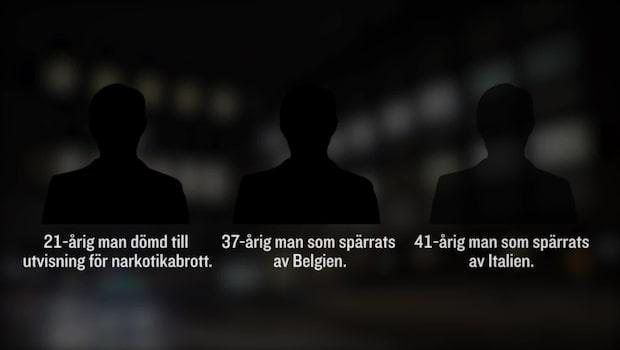 Utvisade personer släpps ur Migrationsverkets förvar