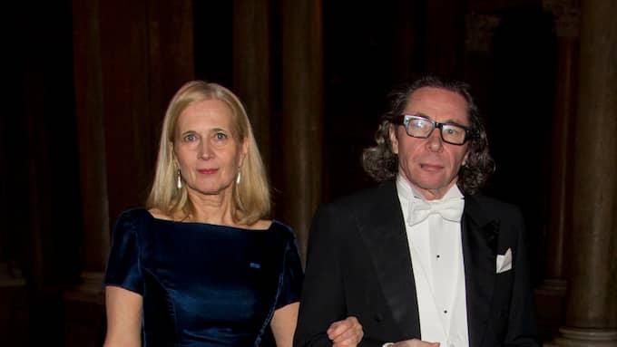 Paret Katarina Frostenson och Jean-Claude Arnault. Foto: DAVID SICA / STELLA PICTURES