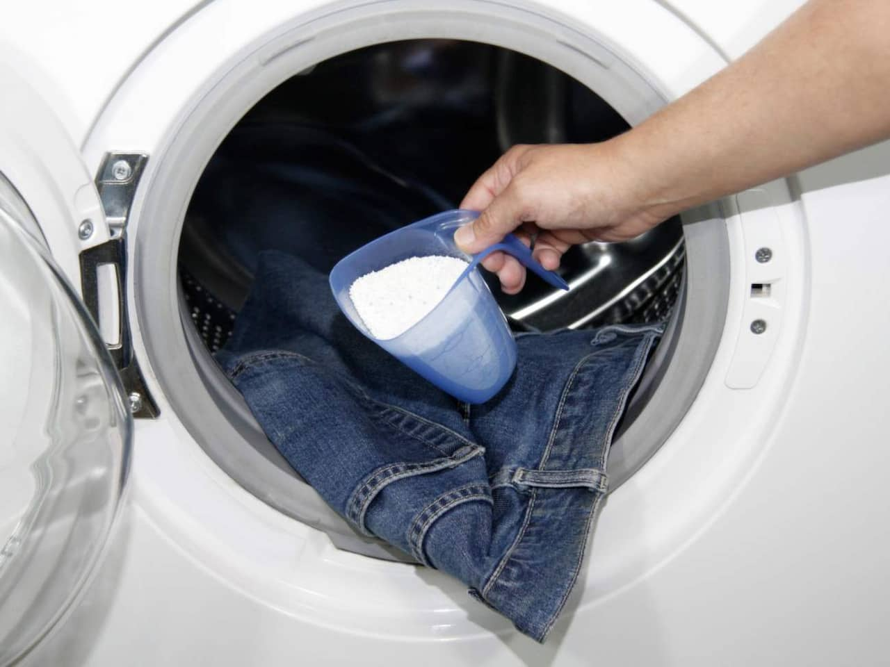 rengöra tvättmaskinen