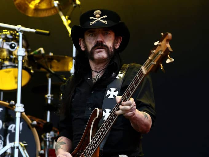 "Last night Ian ""Lemmy"" Kilmister, iconic frontman of heavy metal powerhouse Motörhead, passed away aged 70. Foto: Jeon Heon-Kyun / Epa / Tt"