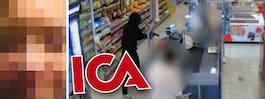 Mamman skjutsade sin son till rånet mot Ica