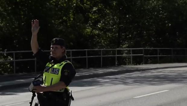 Kraftig minskning av brott längs E6