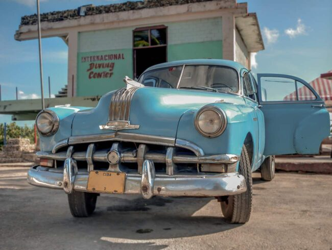 <span>Många vill se Kuba madan det fortfarande är som en tidsmaskin tillbaka till 50-talet.<br></span>