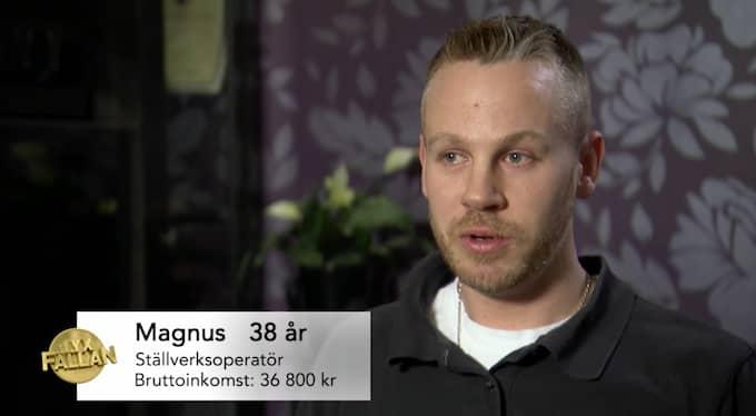 I veckans avsnitt rycker Lyxfällan ut för att försöka rädda 38-årige Magnus ur en ekonomisk härdsmälta. Foto: TV3/Lyxfällan