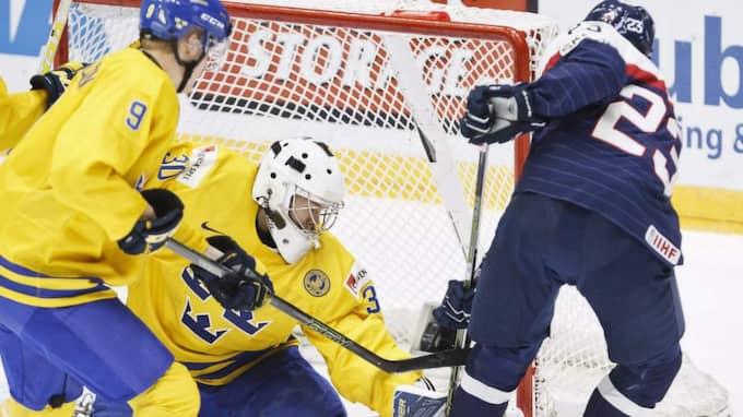 Mot Sverige utsågs Hrusik till matchens bästa spelare, för det slovakiska laget. Foto: Roni Rekomaa