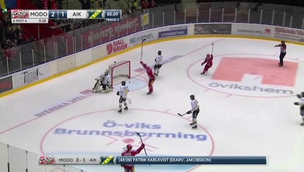 Höjdpunkter: Modo-AIK