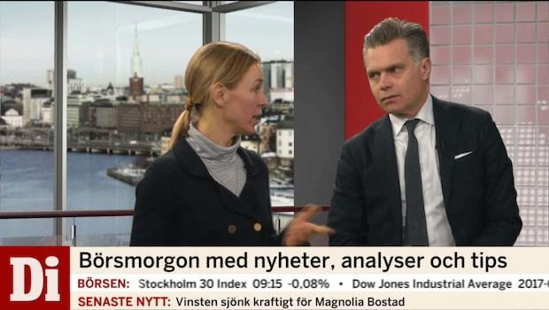 "Jeansson om svensk ekonomi: ""avslutade med flaggan i topp"""