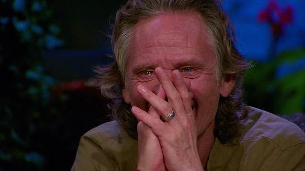 Orups tårar efter Petters överraskning