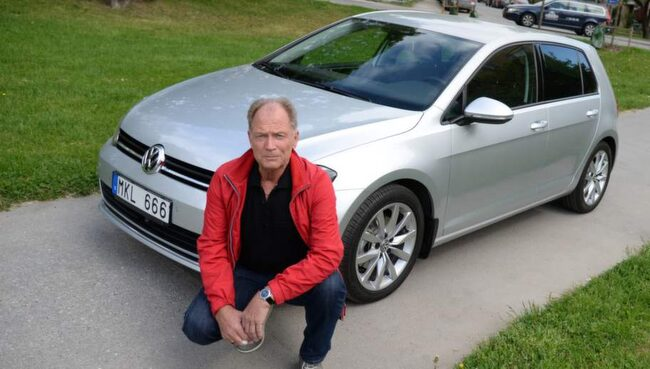 Leif Kaul har problem med missljud på sin nya Volkswagen Golf.