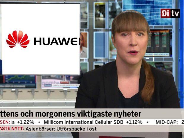Di Morgonkoll 6 december - Huaweis finanschef har gripits i Kanada på USA:s begäran