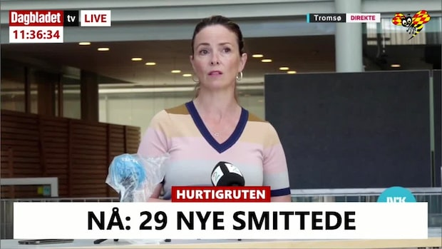 "Hurtigrutens MS ""Roald Amundsen"" – samtliga passagerare testas"