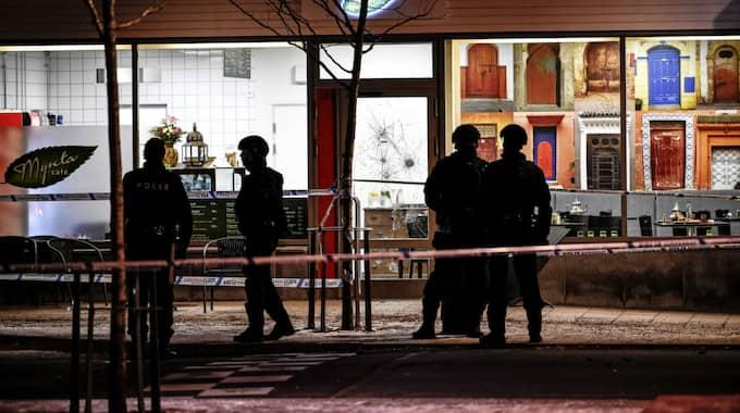 Två bröder mördades i Rinkeby i Stockholm på fredagen. Foto: Alex Ljungdahl