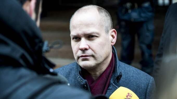 Morgan Johansson kritiserar Erik Ullenhag och menar att han var naiv gällande lotsföretagen. Foto: Tomas Leprince