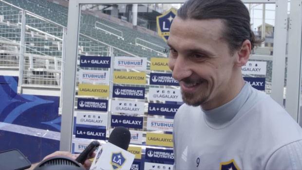 """Zlatan efter första veckan i USA: """"Kan inte göra sjuka saker varje vecka"""""""