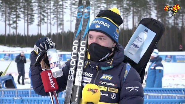 """Sebastian Samuelsson: """"Aldrig någonsin åkt så här bra"""""""