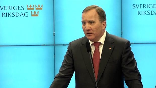 """Löfven om hotet med extraval: """"Inte vad Sverige behöver"""""""