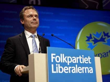 Jan Björklund vann kampen om arbetsrätten. Förslagen om att slopa las och avskaffa turordningsreglerna röstades ned på partiets landsmöte i Växjö. Foto: Hans Runesson/SCANPIX