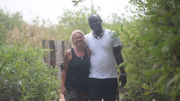 Åsa från Degerfors fann kärleken i Gambia