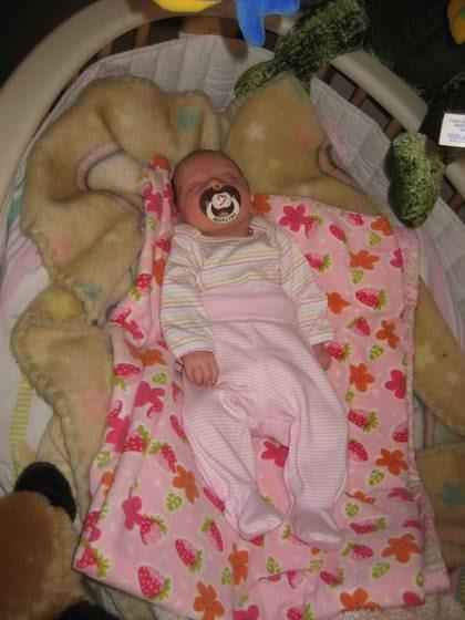 Jag kunde inte halla om min egen baby