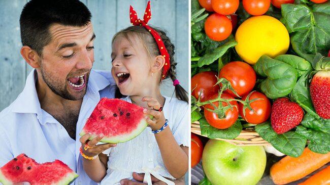 Mindre ont med frukt