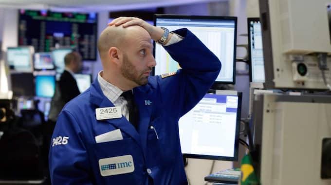 Det globala börskaos som stressar det nya året har samma ursprung som under augusti–september i fjol. Foto: Richard Drew