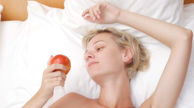 Tryptofan verkar lugnande och finns bland annat i äpplen.