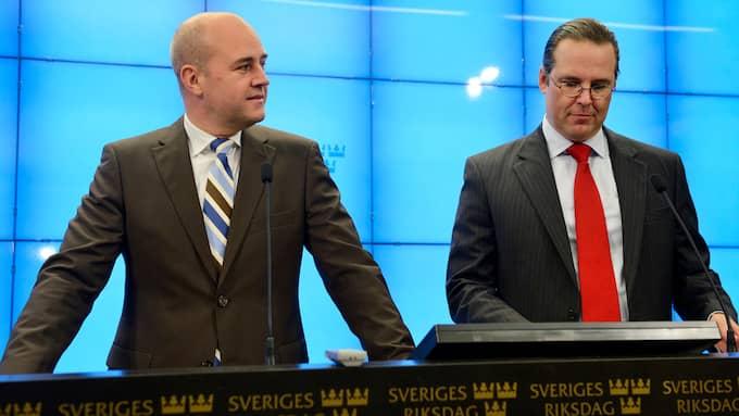 Anders Björck skyller nedrustningen av det svenska försvaret på förre statsministern Fredrik Reinfeldt och tidigare finansministern Anders Borg. Foto: CHRISTIAN ÖRNBERG
