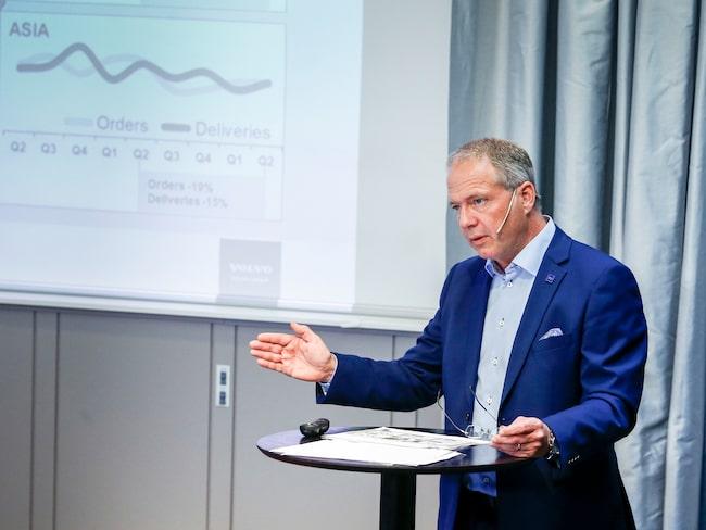 Martin Lundstedt, vd och koncernchef Volvo Group.