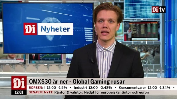 Di nyheter 12:00 - Global Gaming rusar