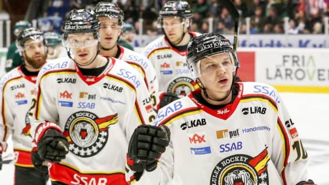Luleå vann mot Färjestad. Foto: Anna-Lena Bergqvist / BILDBYRÅN