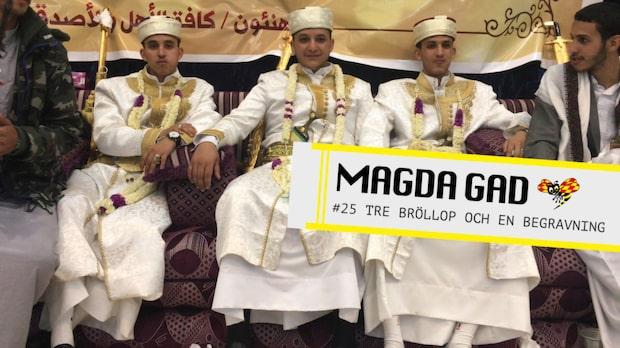 Magda Gad - Tre bröllop och en begravning