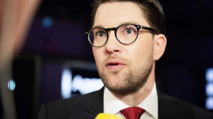 SD:s partiledare Jimmie Åkesson. Foto: Anna-Karin Nilsson