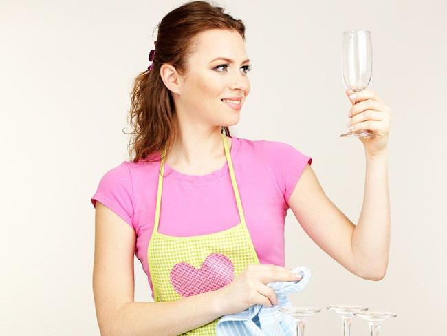 ...och ge glasen rätt behandling så får du en mycket bättre upplevelse när du väl häller upp själva drycken.