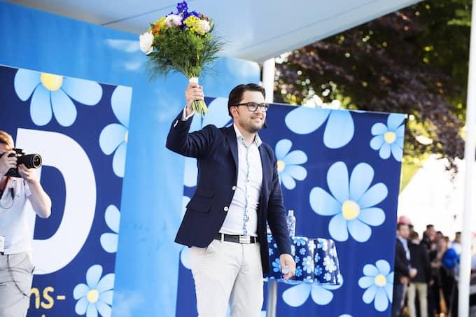 Sverigedemokraternas partiledare Jimmie Åkesson. Foto: ANNA-KARIN NILSSON / ANNA-KARIN NILSSON EXPRESSEN