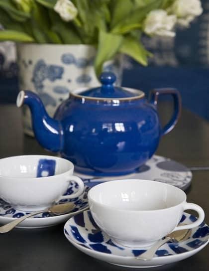 BILDSPECIAL Sommarfräscht med blått och vitt Leva& bo