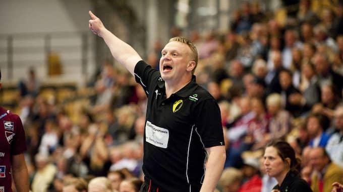Ola Månsson pekar ut vägen mot en ny final. Foto: PER NILSSON