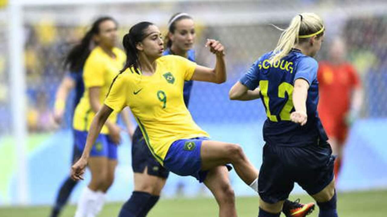fotboll os damer